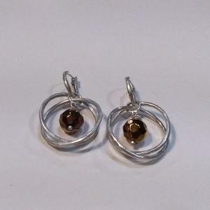 Sigrid Olsen Hoop Earrings.